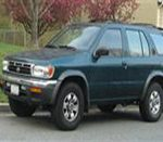 Terrano R50  (1995-1999) правый руль